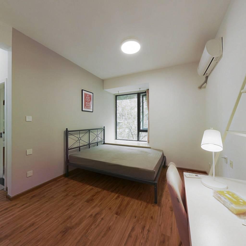 合租·翡翠城五期 4室1厅 东北卧室图