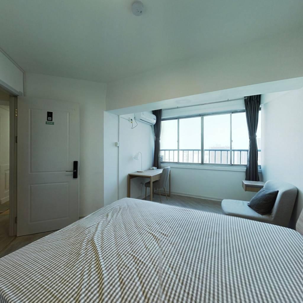 合租·中山花园 4室1厅 北卧室图