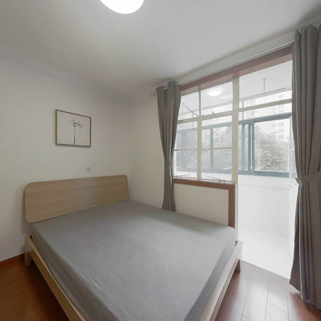 整租·同济新村 2室1厅 南卧室图