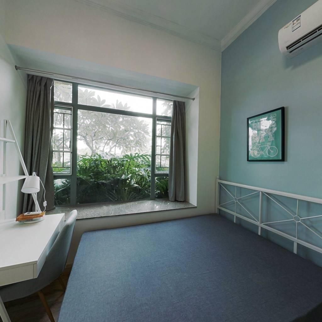 合租·广州雅居乐花园浅山小筑 4室1厅 东北卧室图