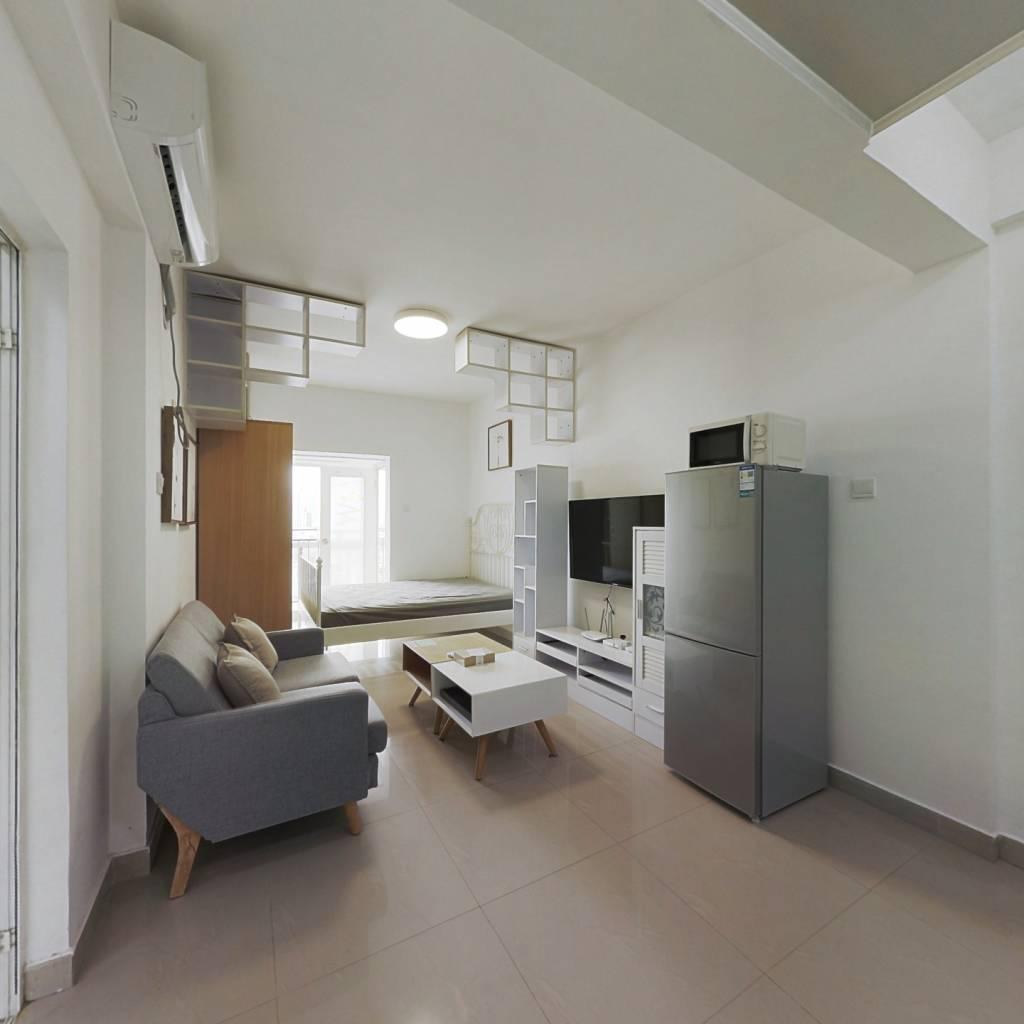 整租·友邻公寓 1室1厅 南卧室图