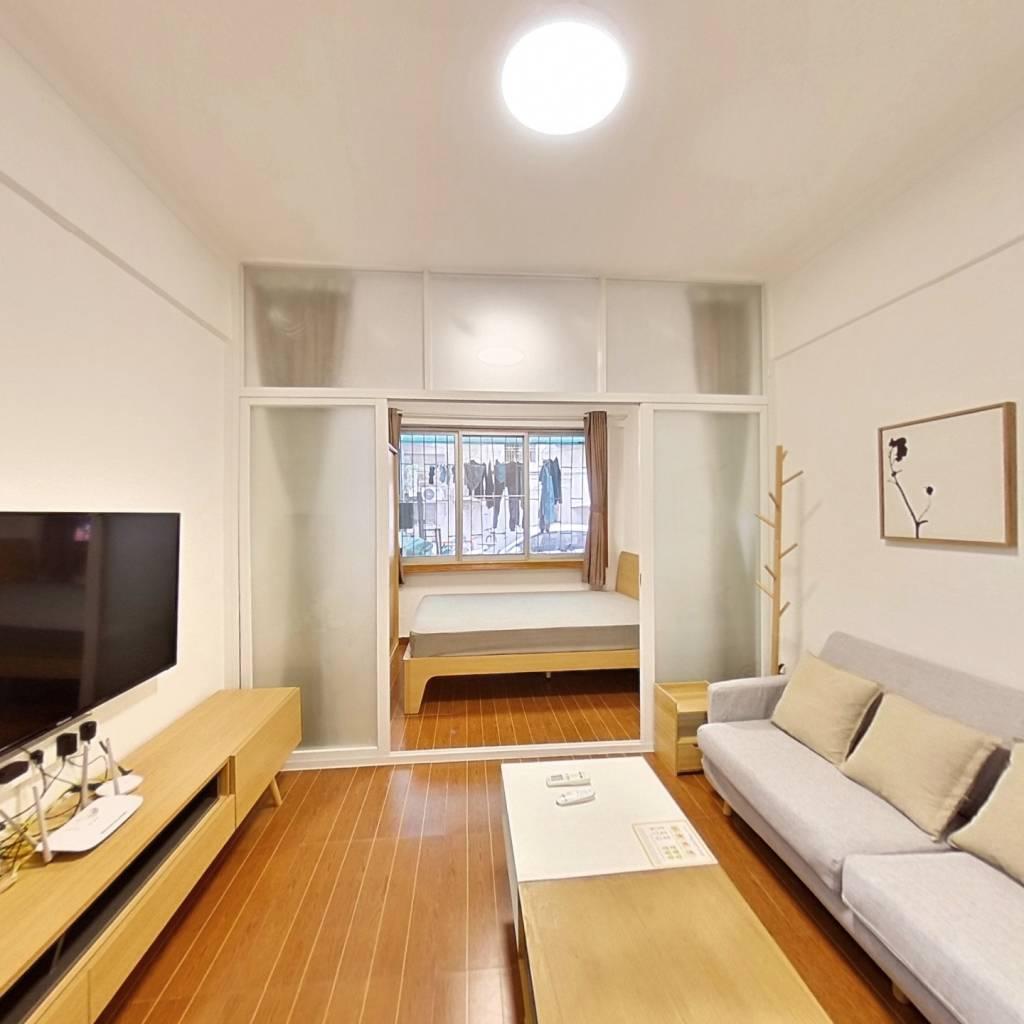 整租·深华园南山区 1室1厅 南卧室图
