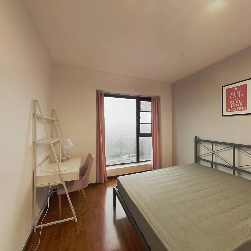 合租·凯德风尚 3室1厅 北卧室图