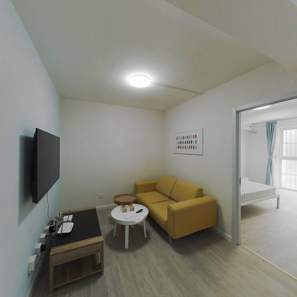 整租·壹线国际 2室1厅 西卧室图