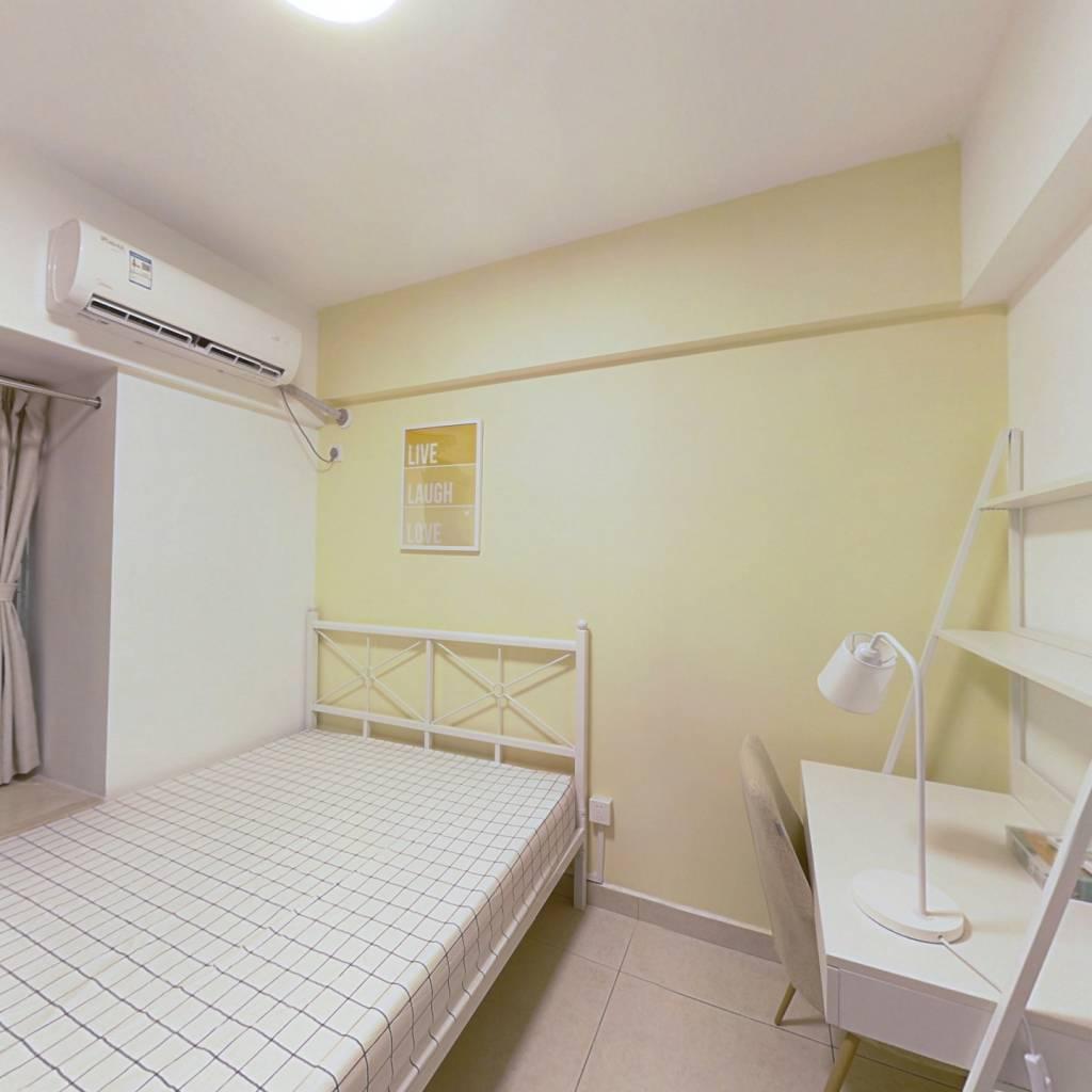 合租·富基广场 3室2厅 南卧室图