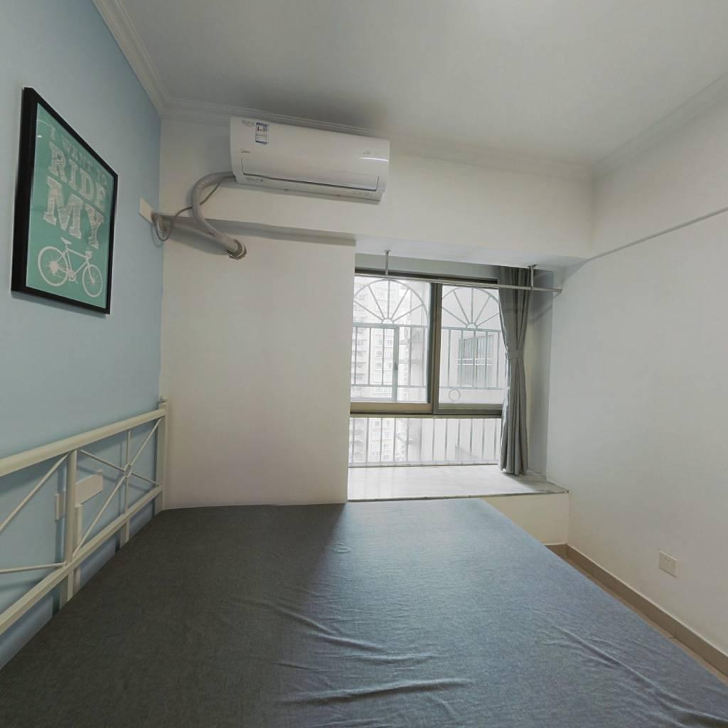合租·鸿景园 4室1厅 北卧室图