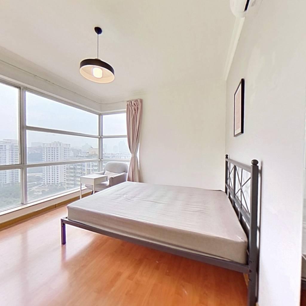 合租·富力院士庭 3室1厅 南卧室图