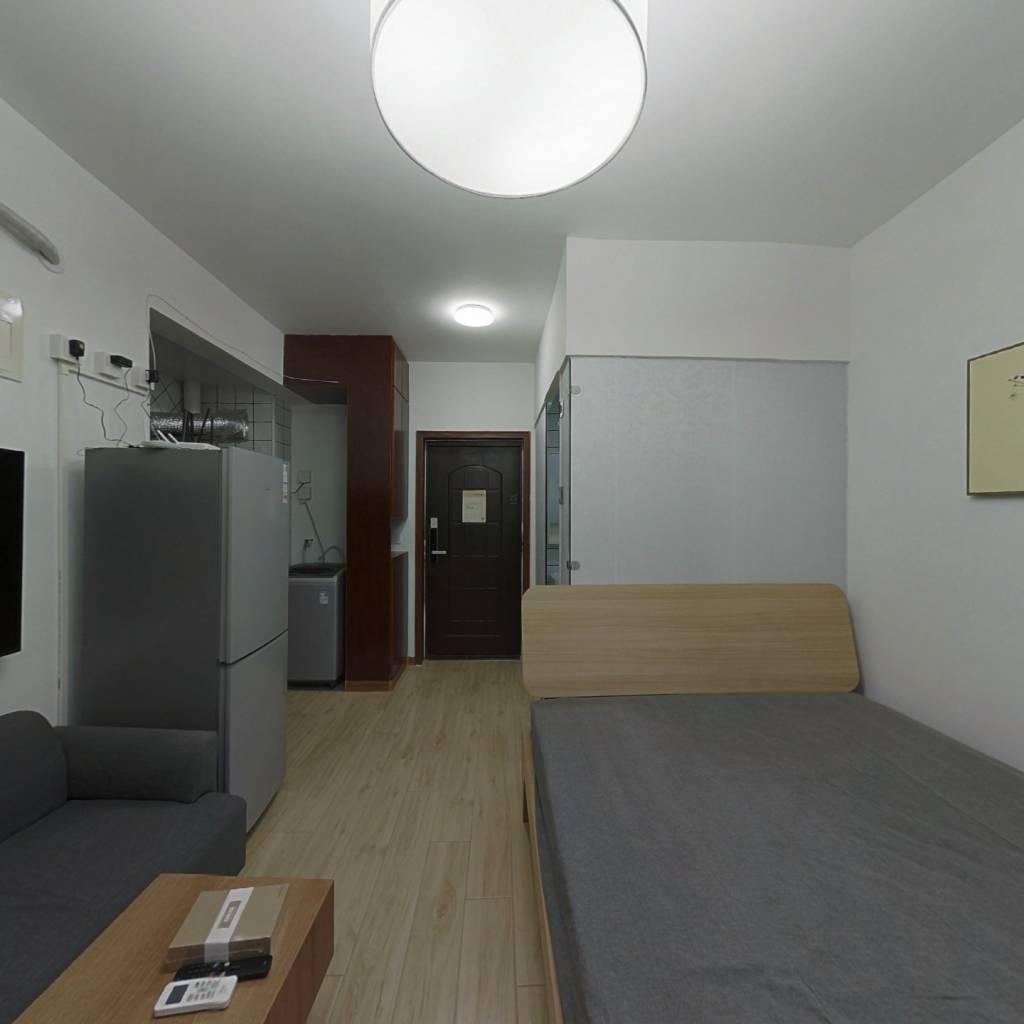 整租·新文化花园新景居 1室1厅 东卧室图