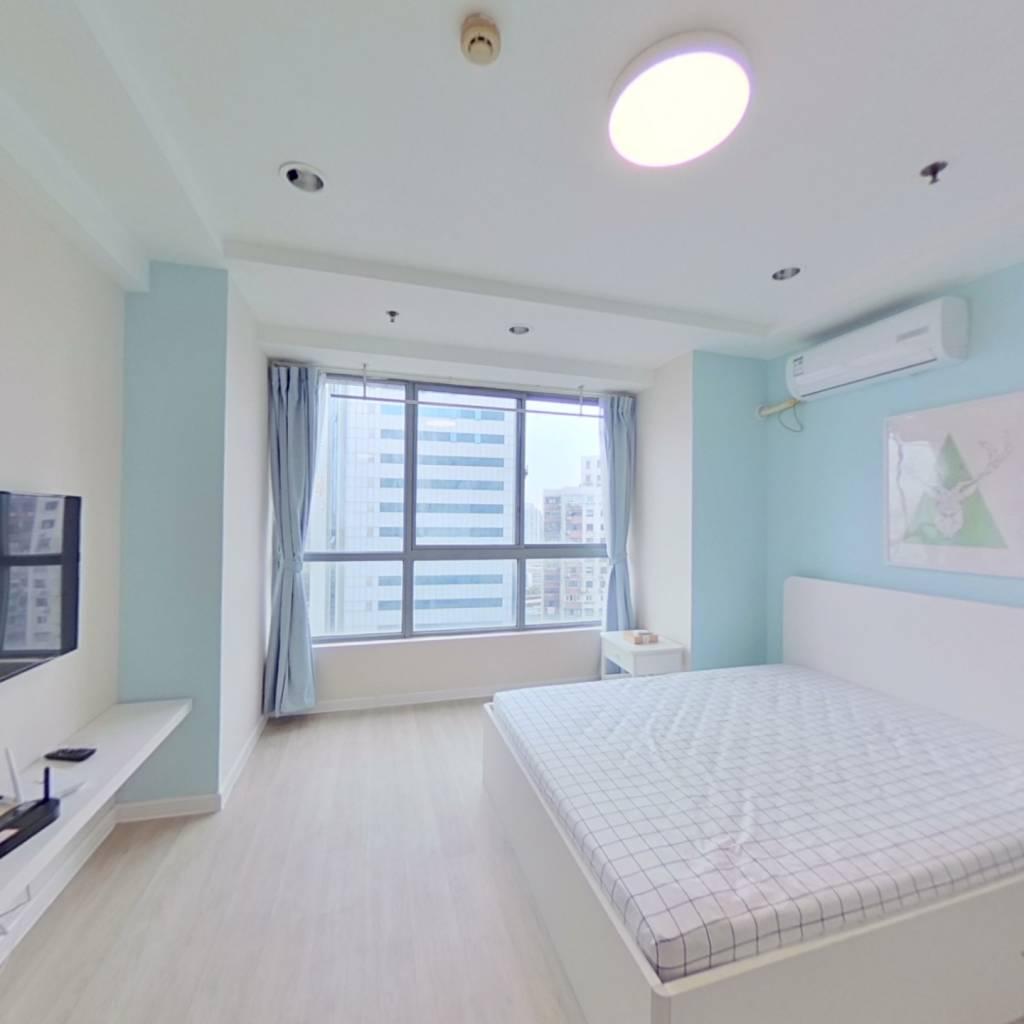 整租·金城大厦 1室1厅 卧室图