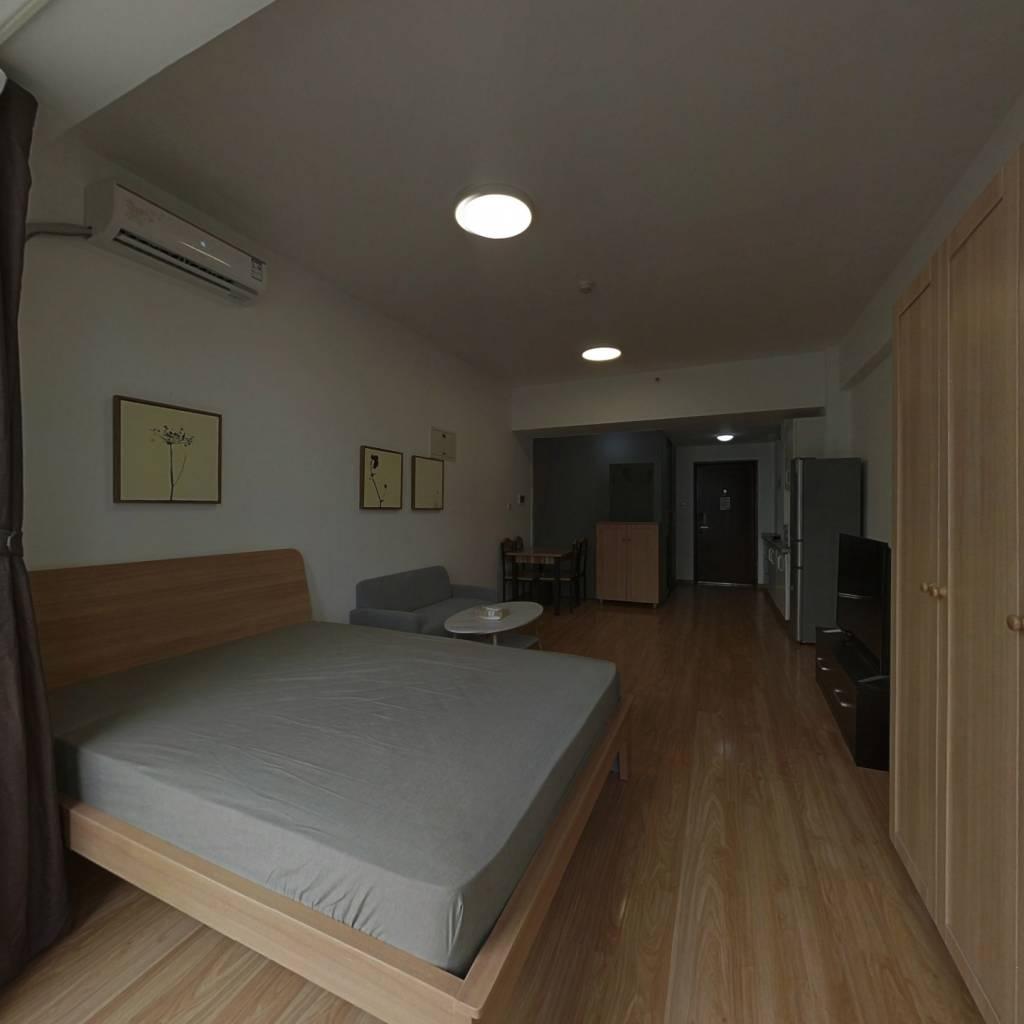 整租·首开熙悦睿府书香 1室1厅 北卧室图