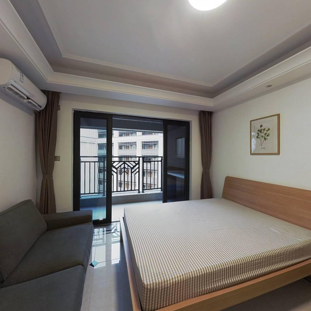 合租·中海锦观华庭(D区) 4室1厅 东南卧室图