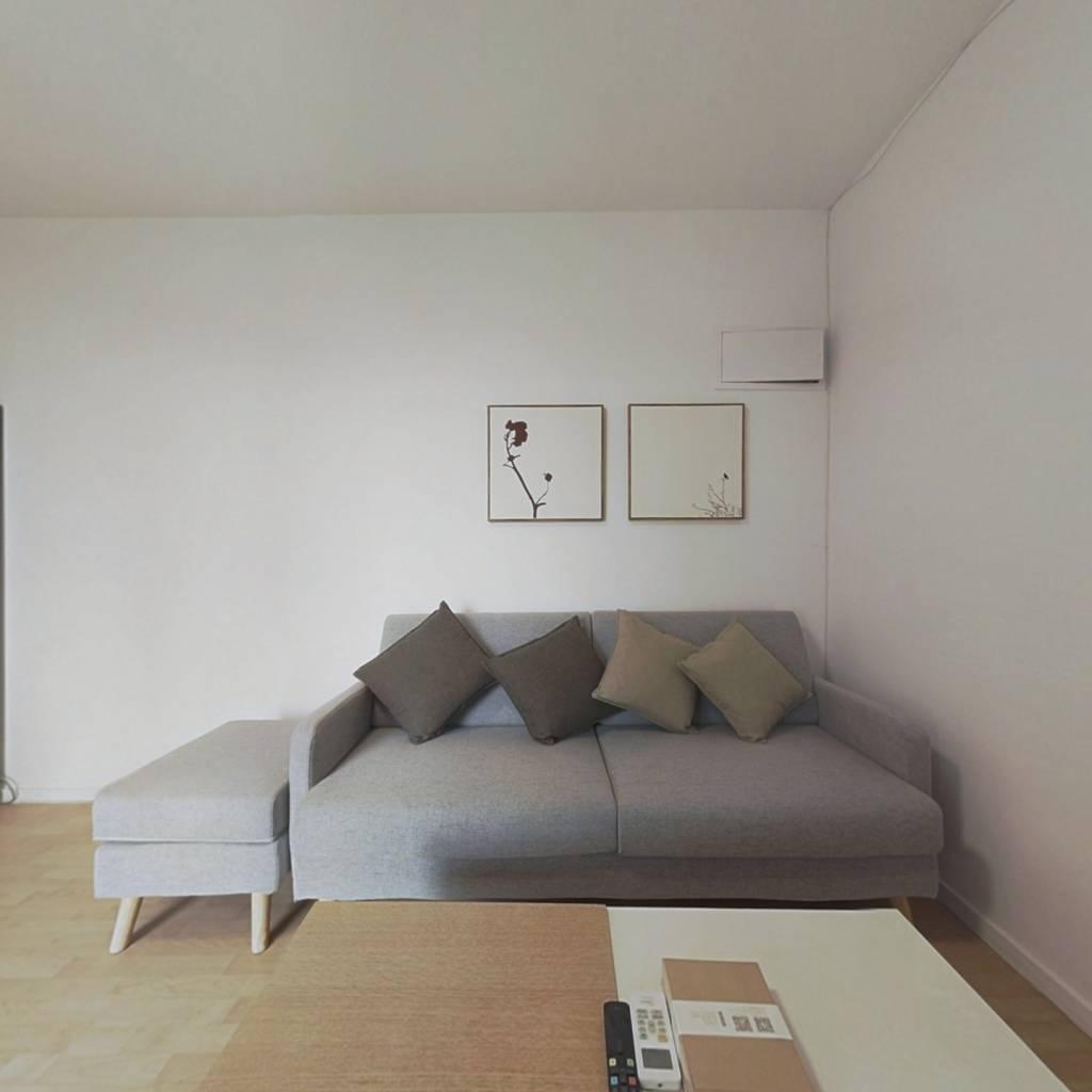 整租·炫特嘉园二期 1室1厅 东南卧室图