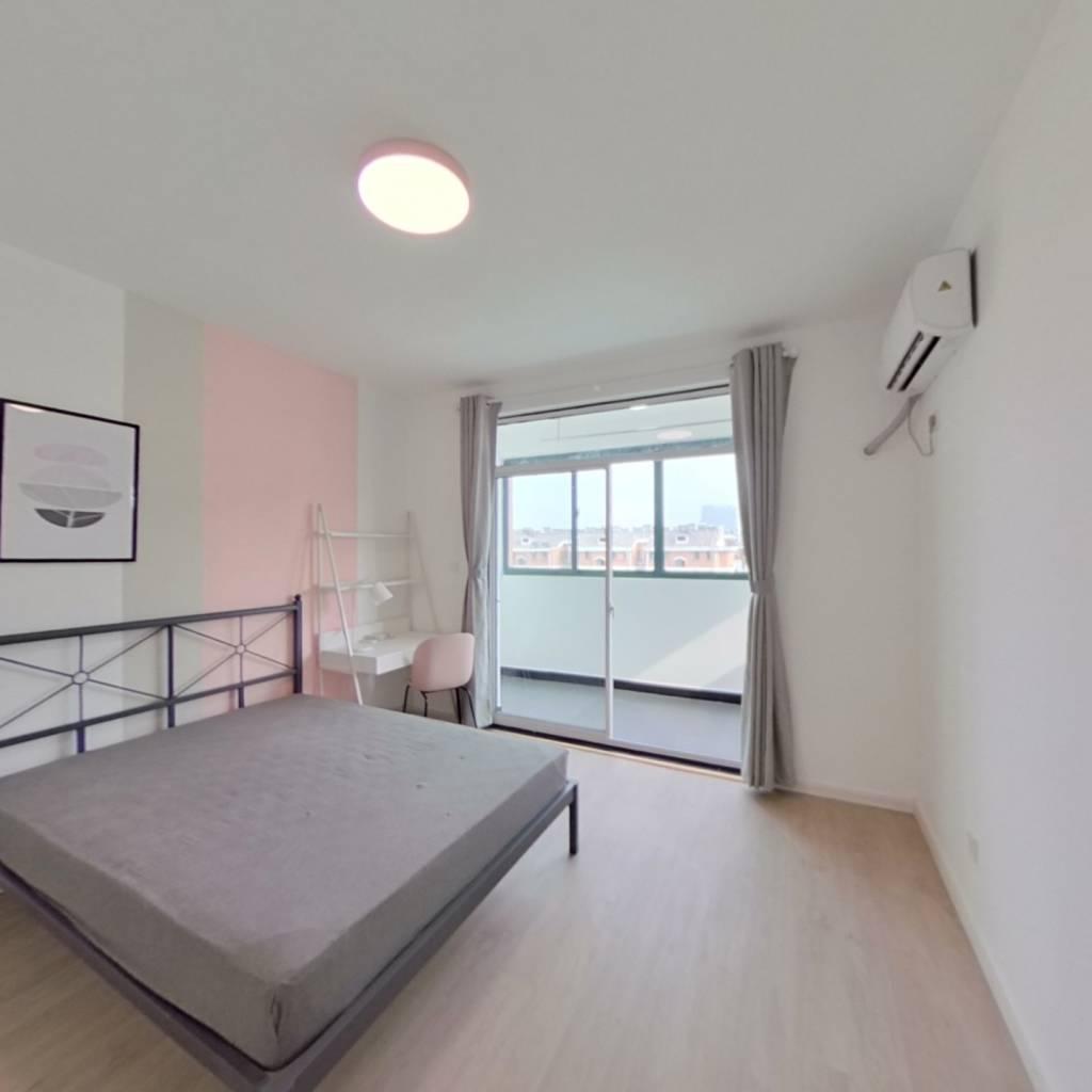 合租·天景山公寓佳福苑 4室1厅 北卧室图
