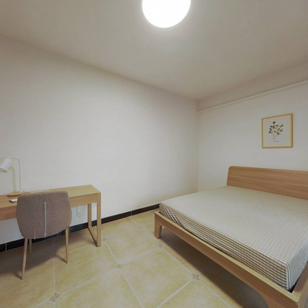 合租·融科天城二期 4室1厅 北卧室图