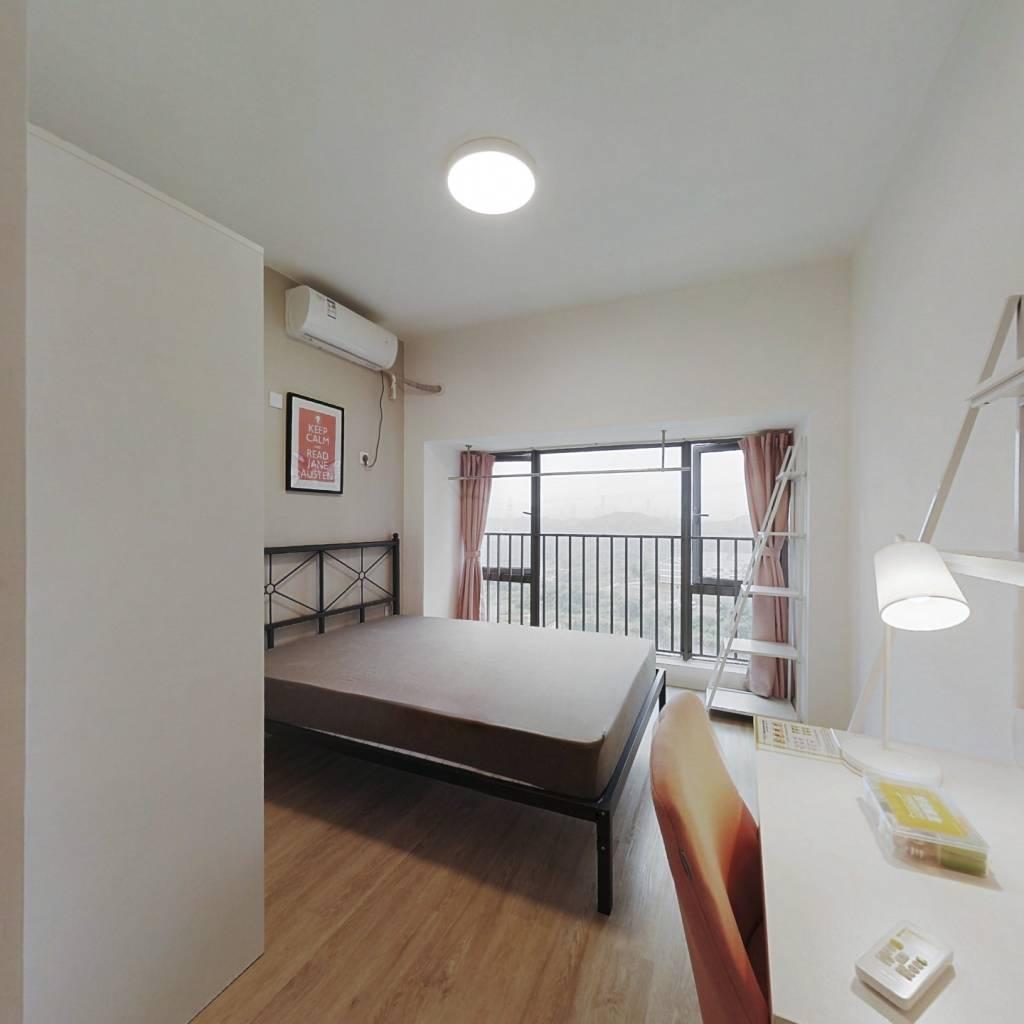 合租·锦荟PARK 4室1厅 南卧室图