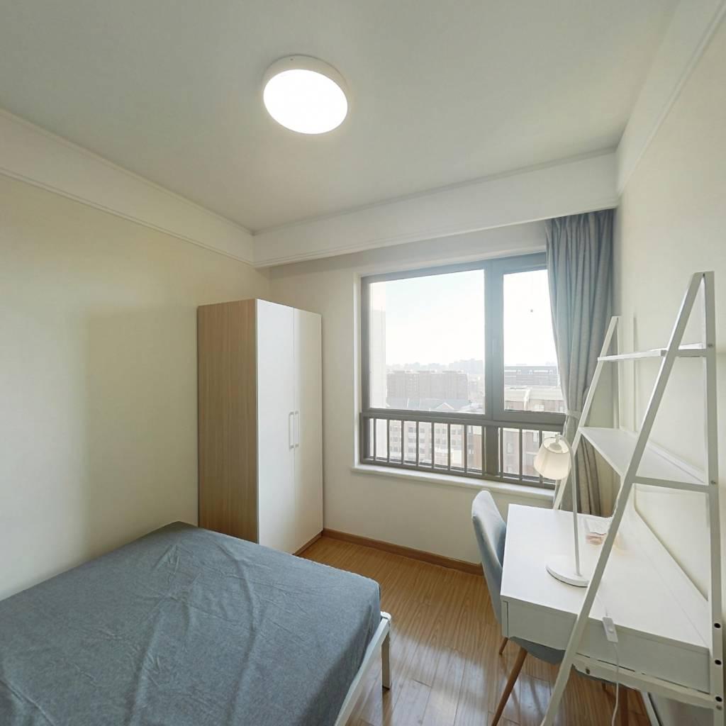 合租·中海学府公馆 3室1厅 北卧室图