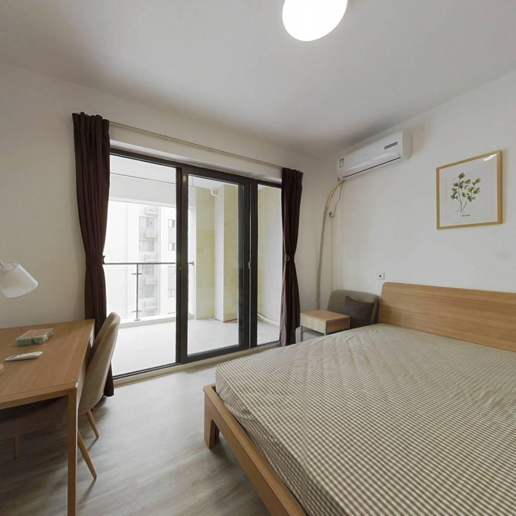 合租·光华欣苑 4室1厅 东卧室图
