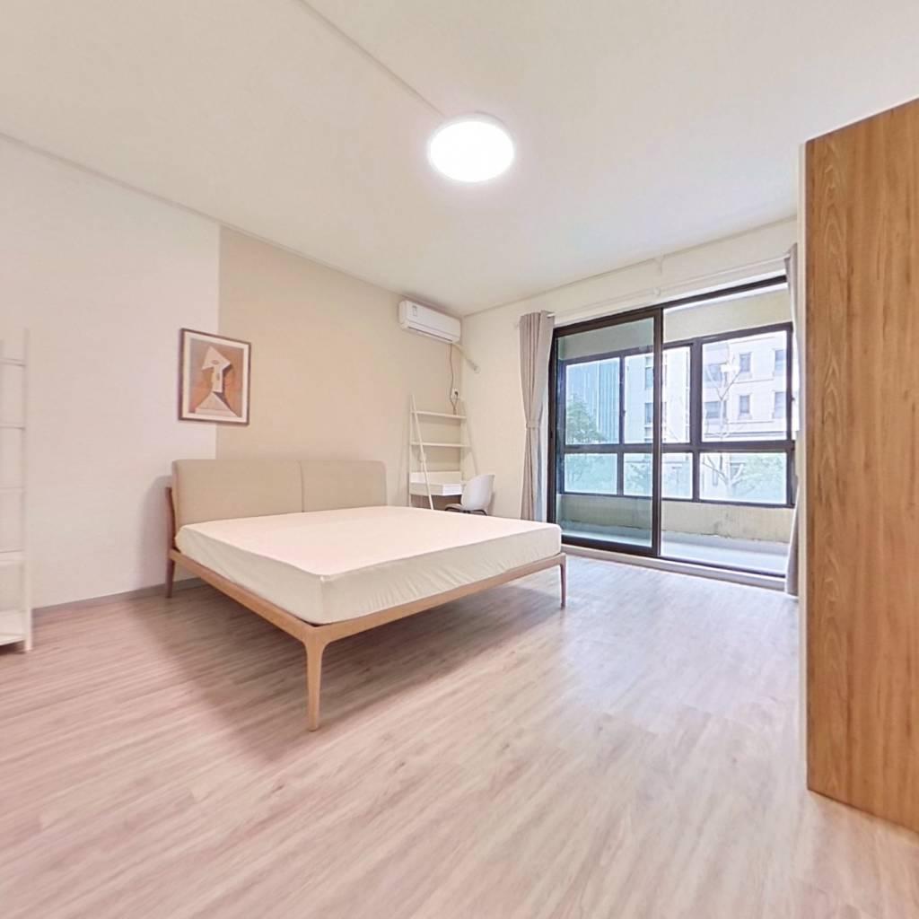 合租·国采光立方 5室1厅 北卧室图