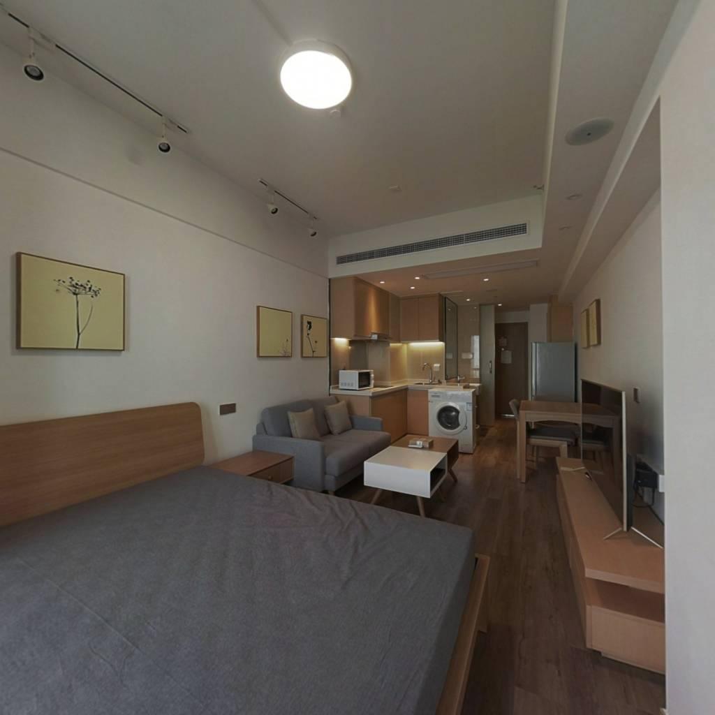 整租·绿地云尚 1室1厅 北卧室图
