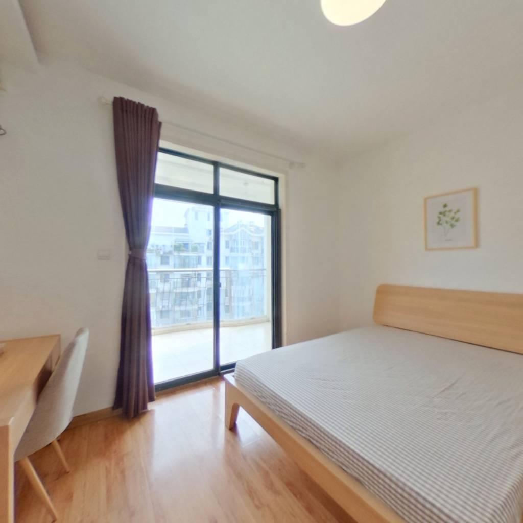 合租·东立国际 4室1厅 南卧室图