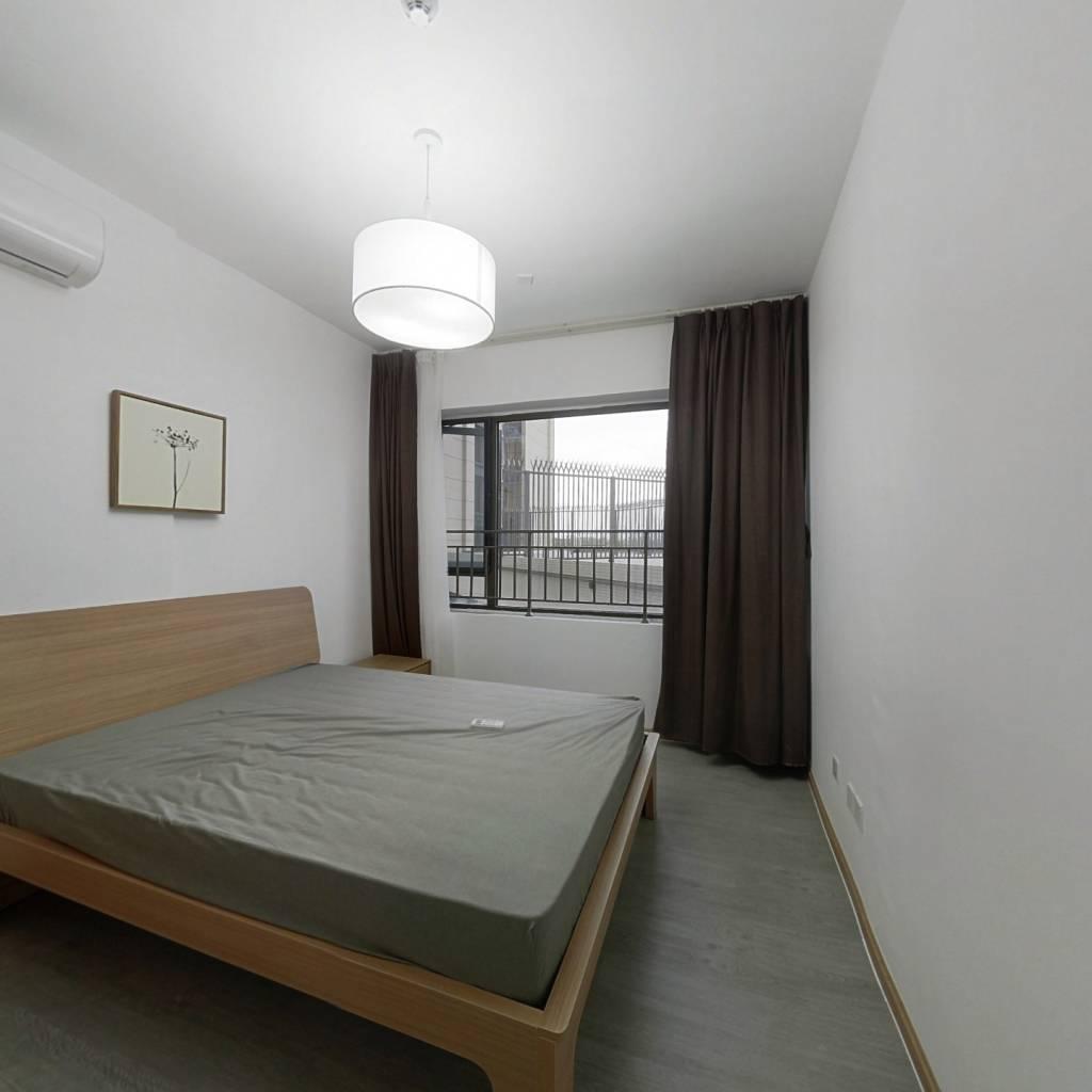 整租·中洲锦城湖岸 2室1厅 东卧室图