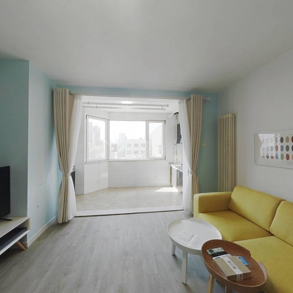 整租·金港国际 1室1厅 西卧室图