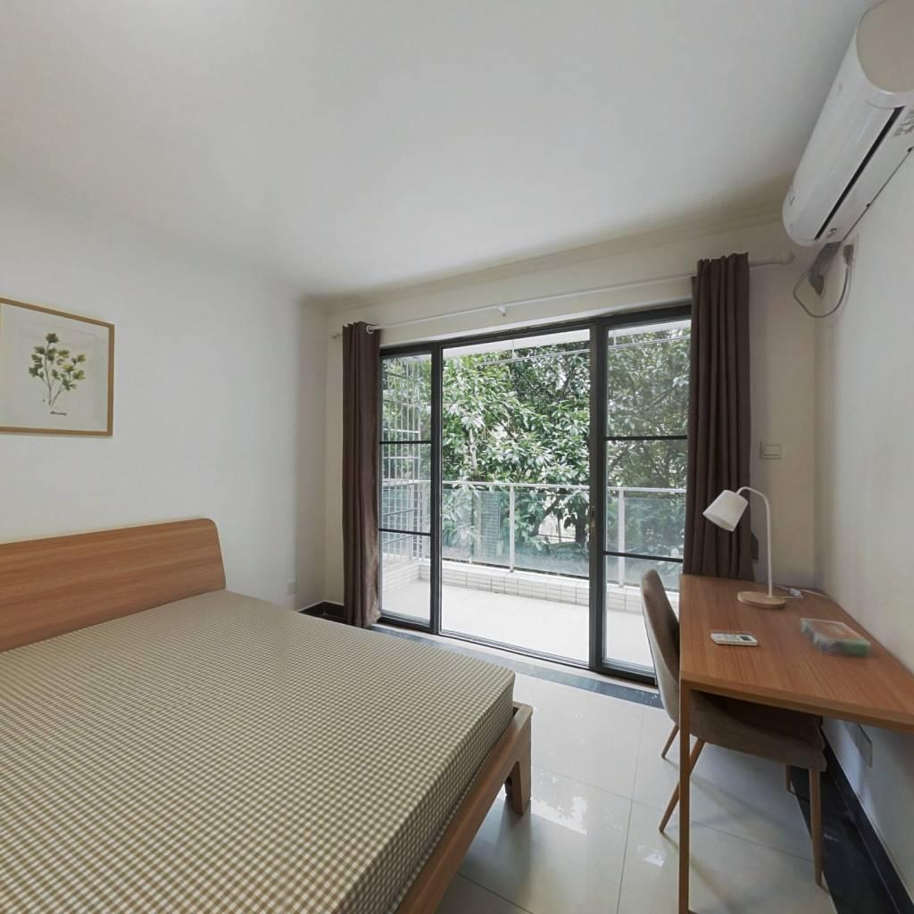 合租·中海康城 3室1厅 北卧室图