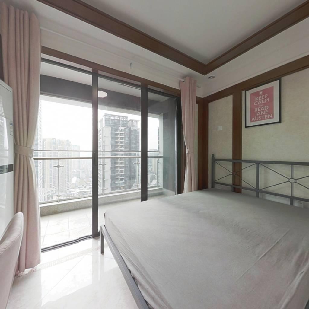 合租·中铁鹭岛艺术城 4室1厅 东南卧室图