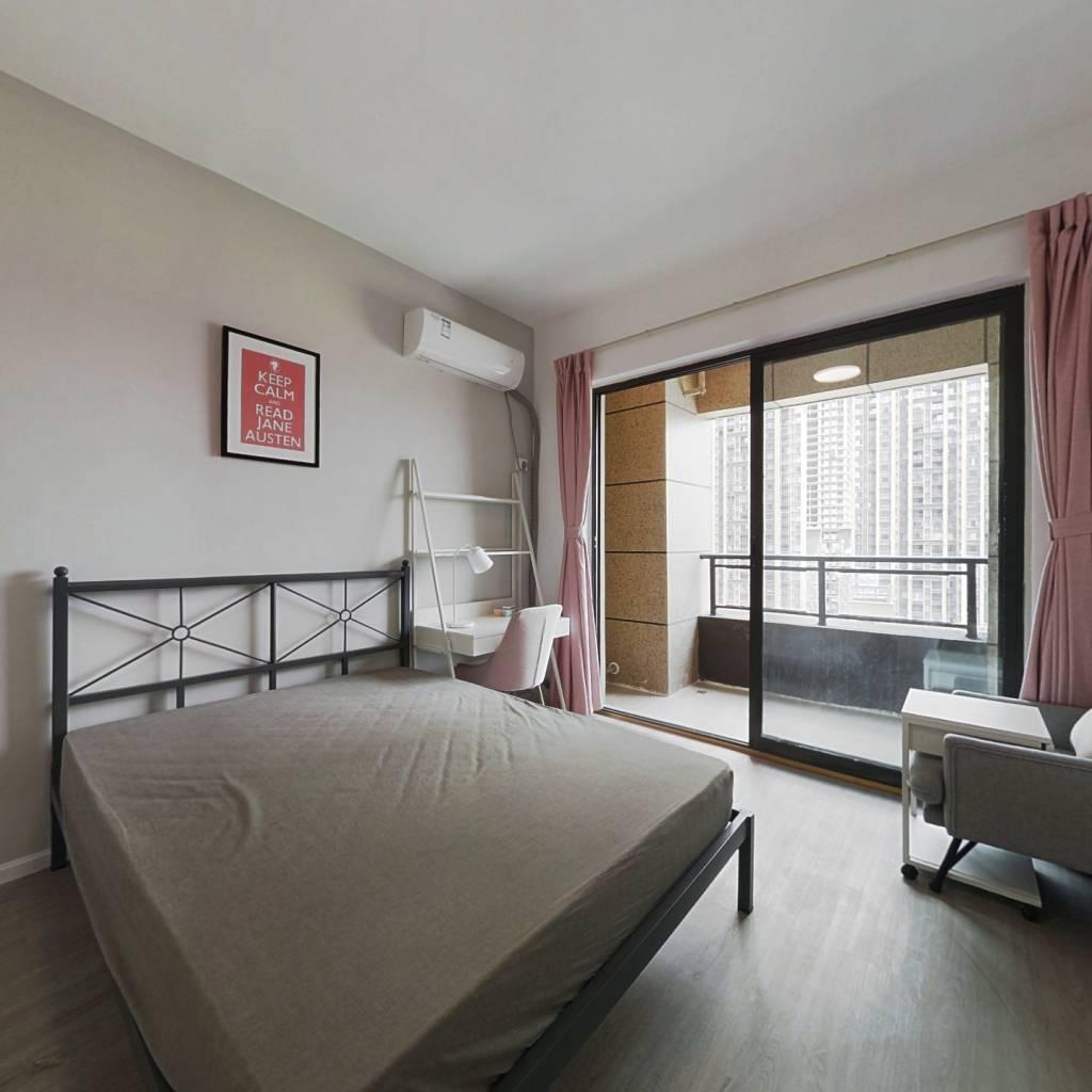 合租·中港CCPARK 4室1厅 南卧室图