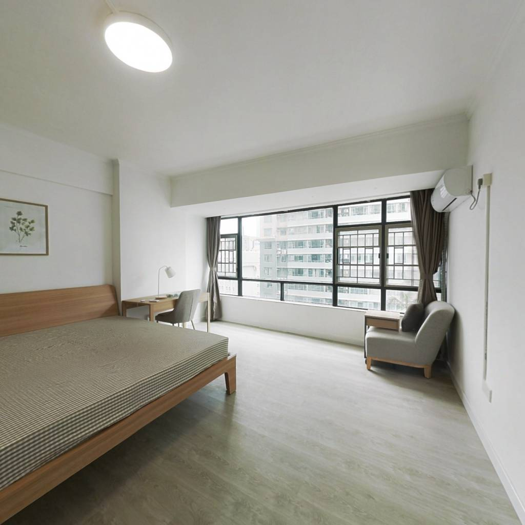 合租·天誉花园 4室1厅 南卧室图