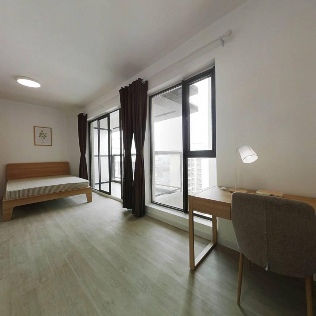 合租·永立龙邸二期 4室1厅 西卧室图