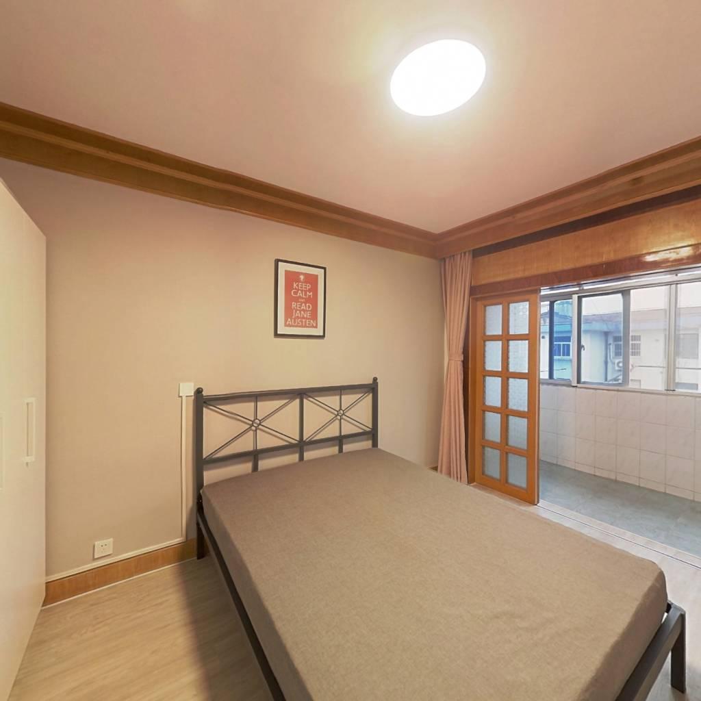 合租·紫荆二村 3室1厅 北卧室图