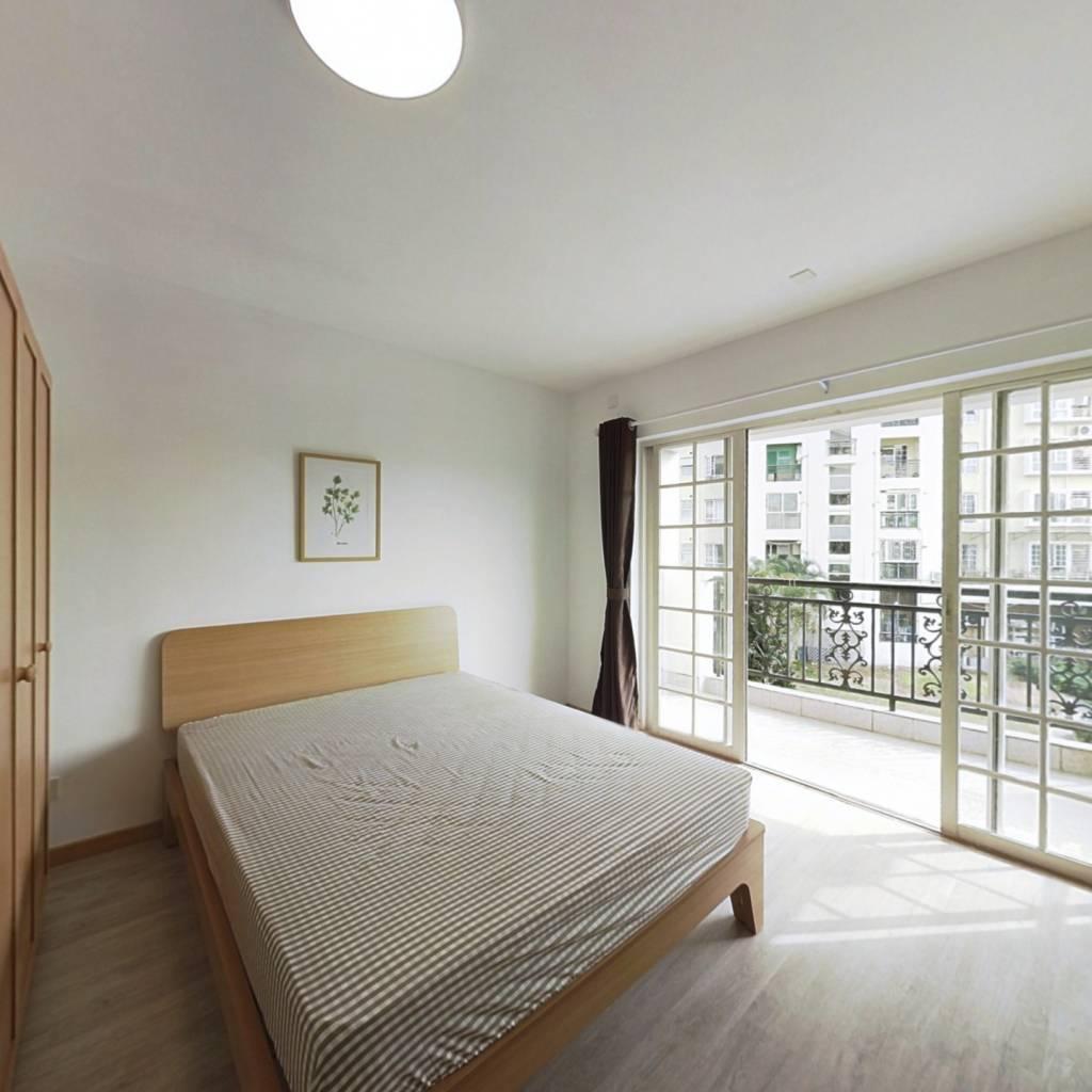 合租·海月花园一期 4室1厅 南卧室图