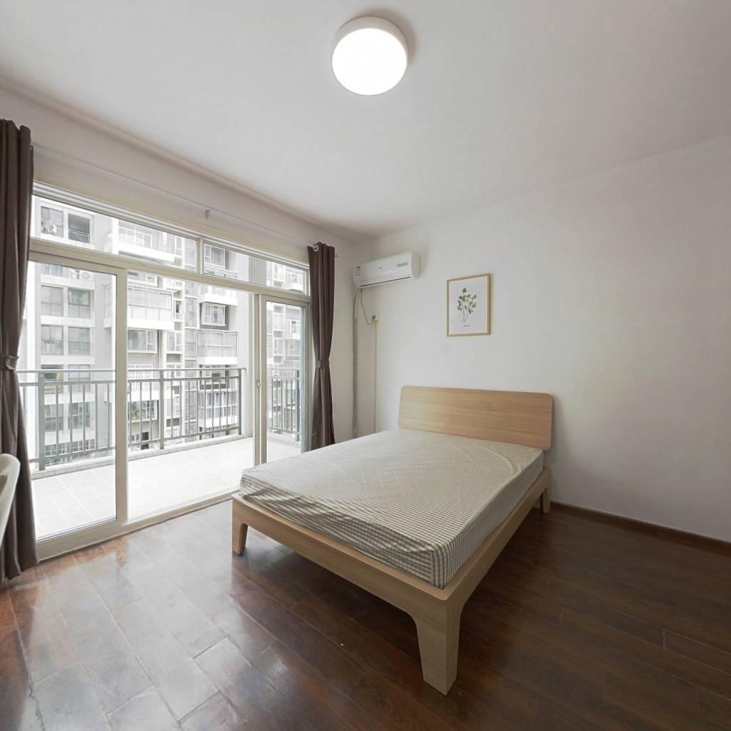 合租·逸都国际 4室1厅 西卧室图