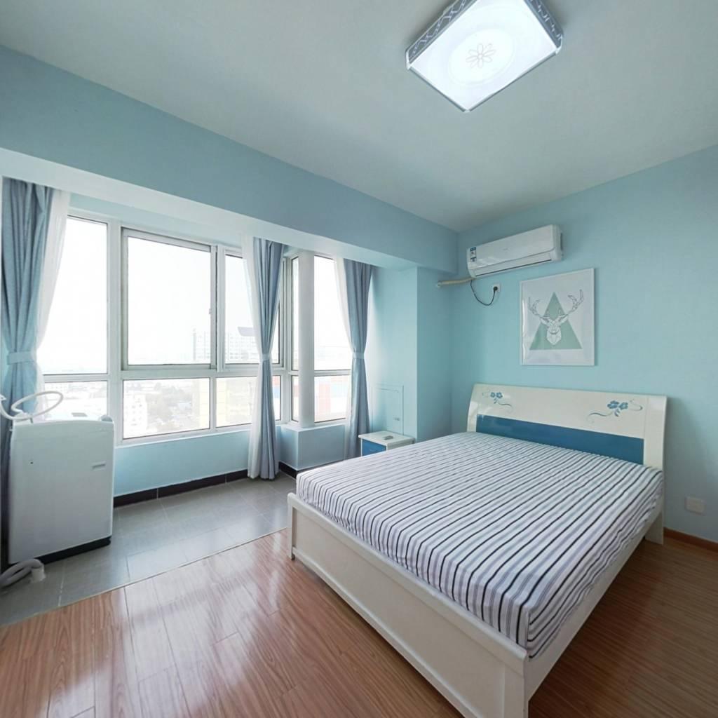 整租·汇金旗林大厦 1室1厅 北卧室图
