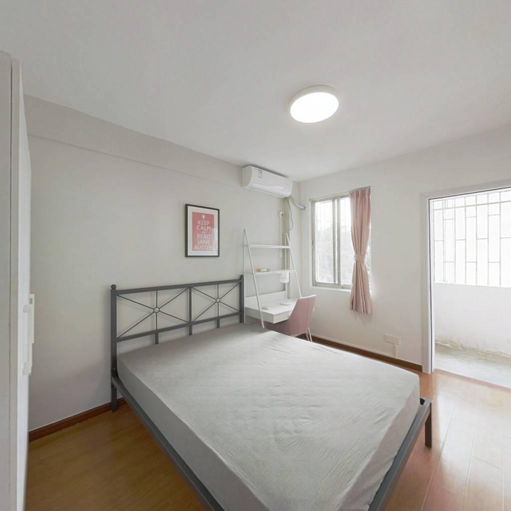 合租·后海花园 4室1厅 东卧室图