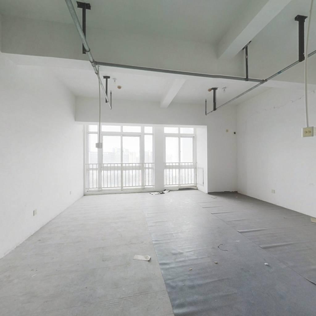 安粮40年产权公寓采光好楼层佳全景大窗正对生态公园
