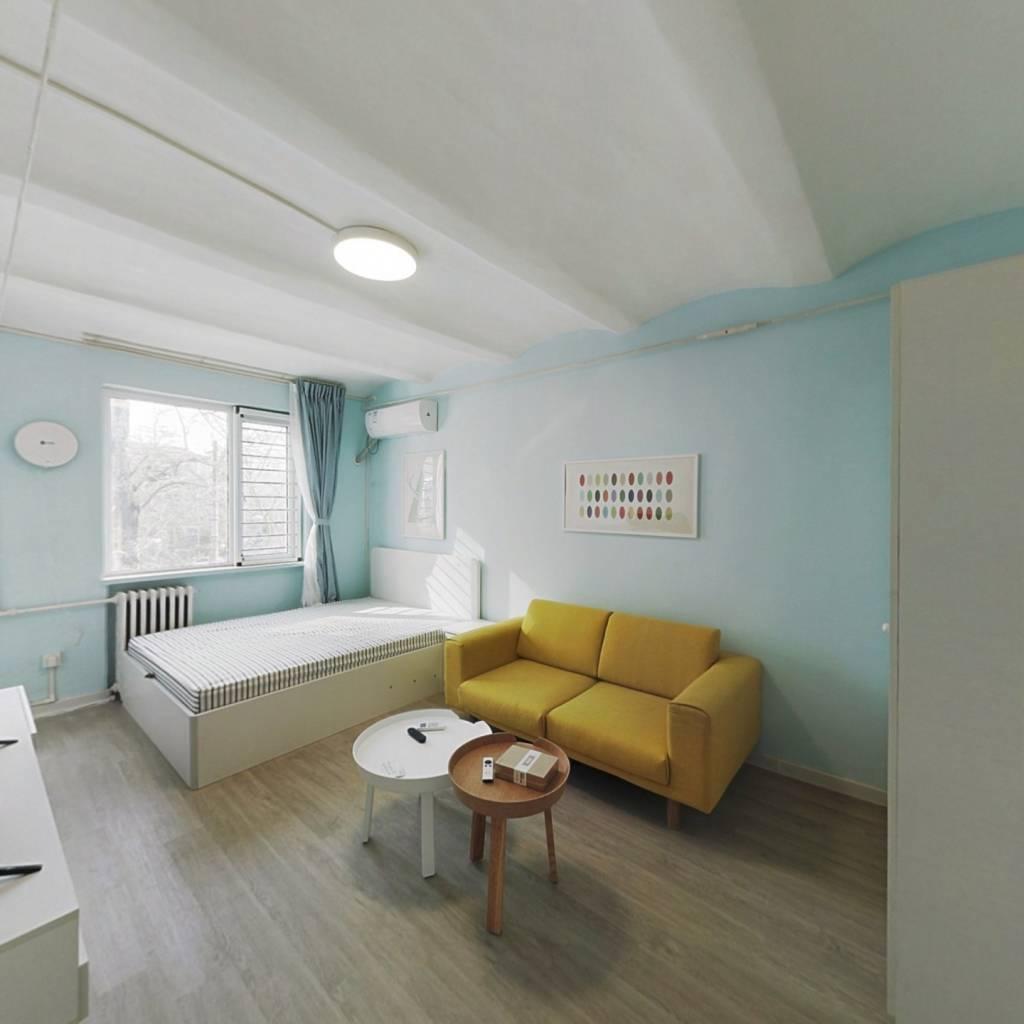 整租·呼家楼南里 2室1厅 东西卧室图