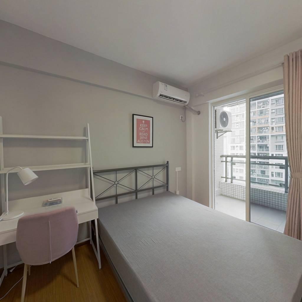 合租·尚领时代 4室1厅 东南卧室图