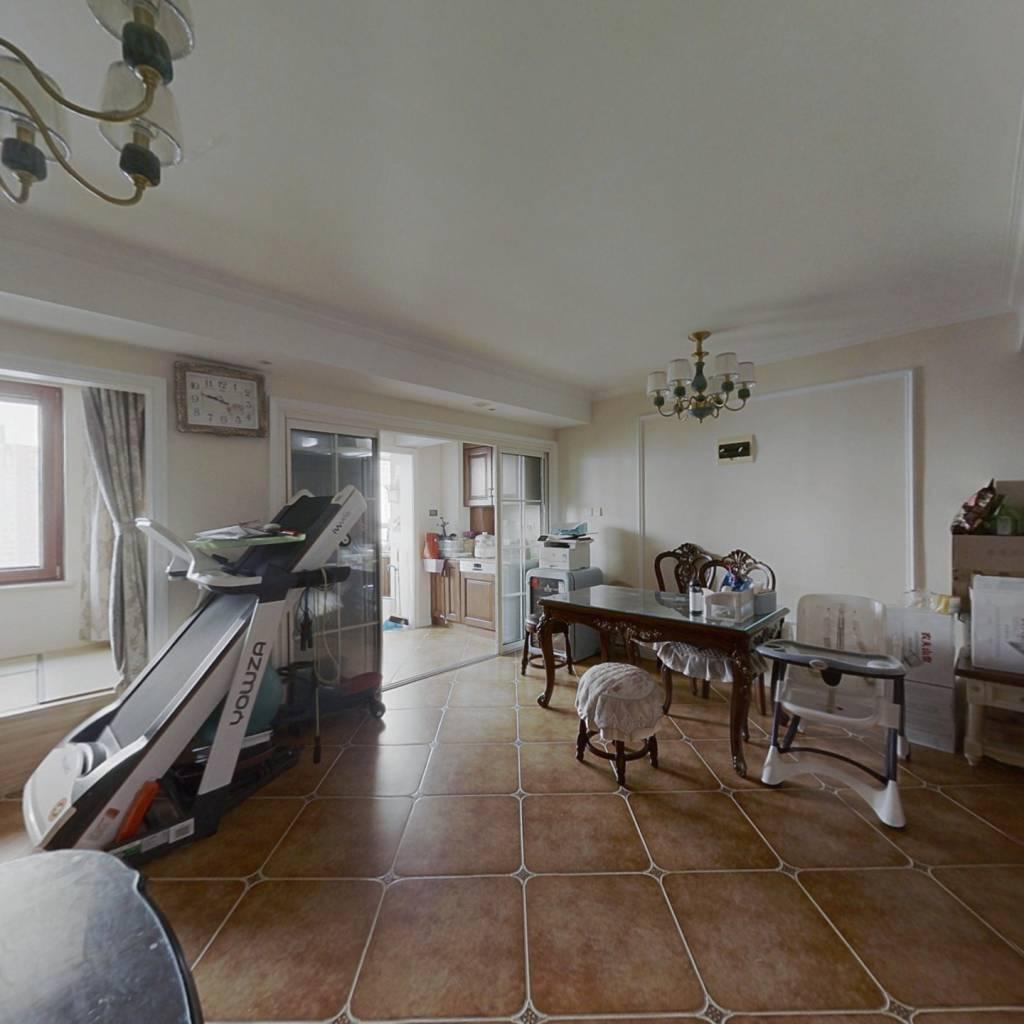 精装大三室,陪读居住皆宜,清华园和平人认可的小区