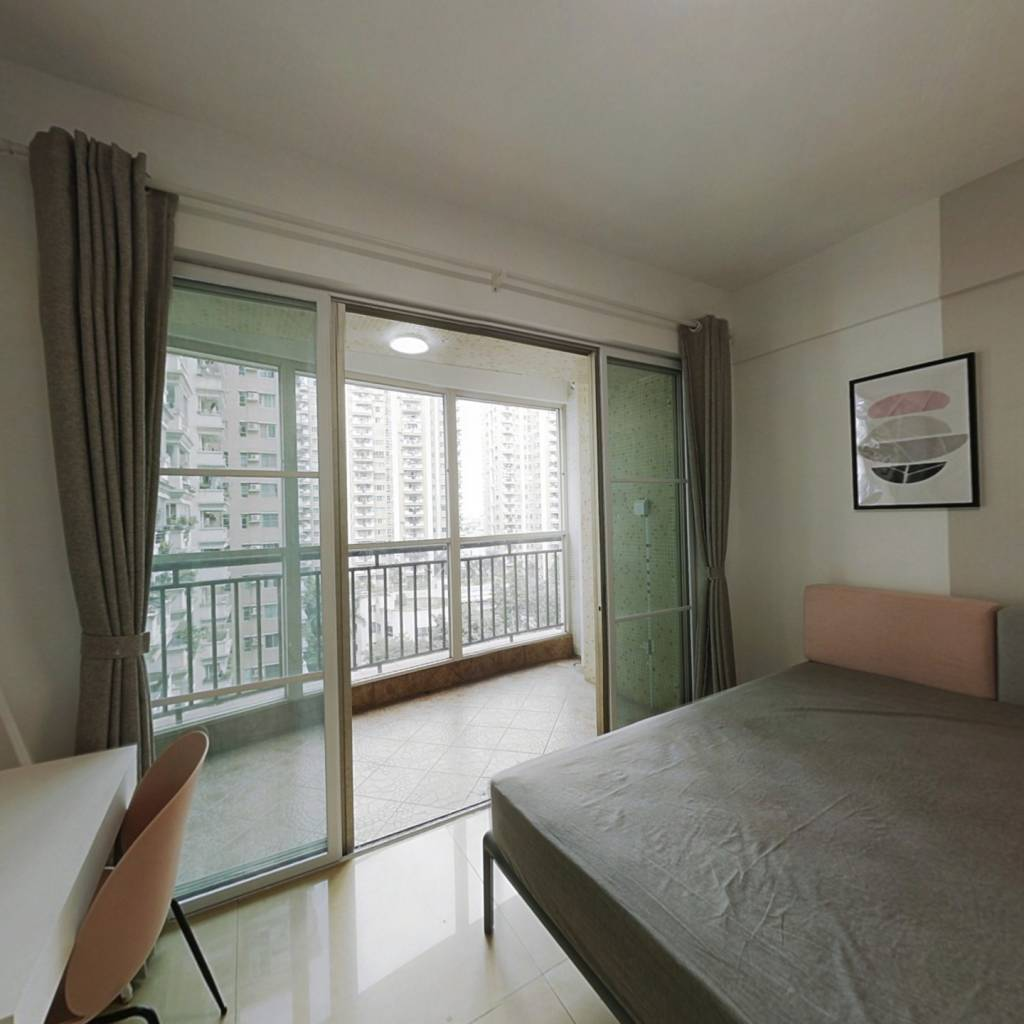 合租·锦丽居 3室1厅 西卧室图