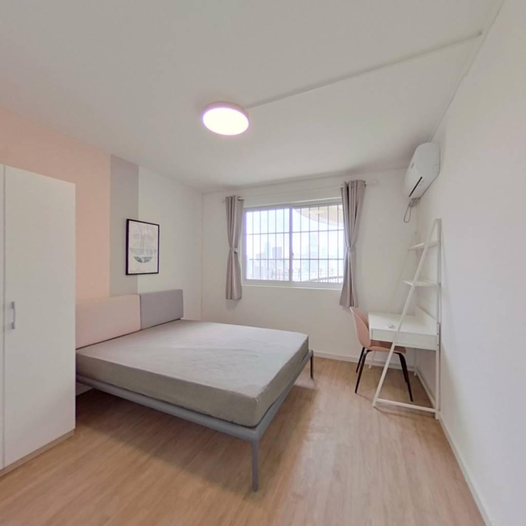 合租·越秀苑 4室1厅 南卧室图