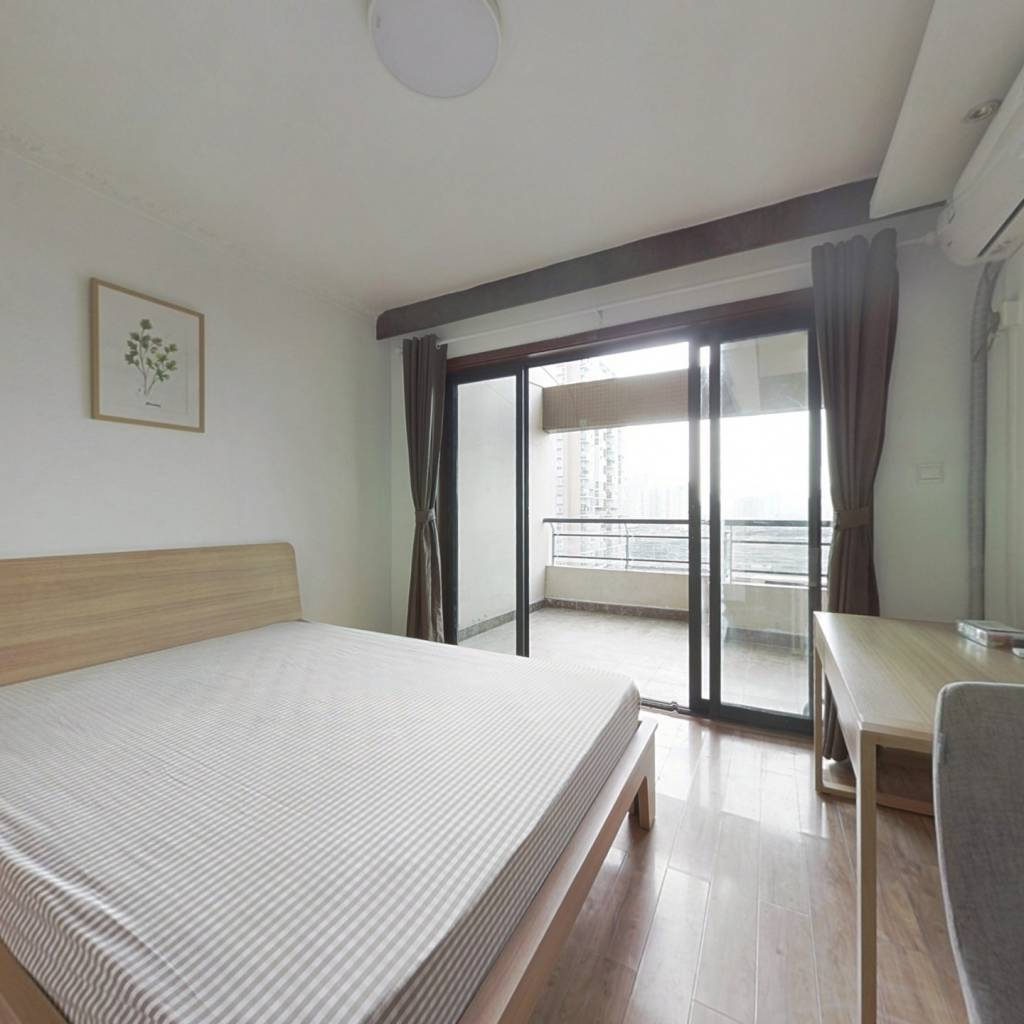 合租·富丽碧蔓汀 3室1厅 南卧室图