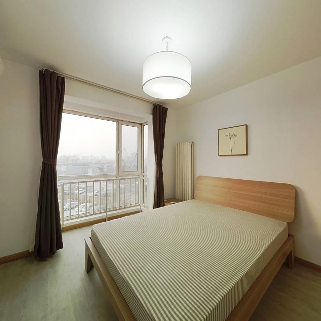 整租·三环新城8号院 2室1厅 西南卧室图