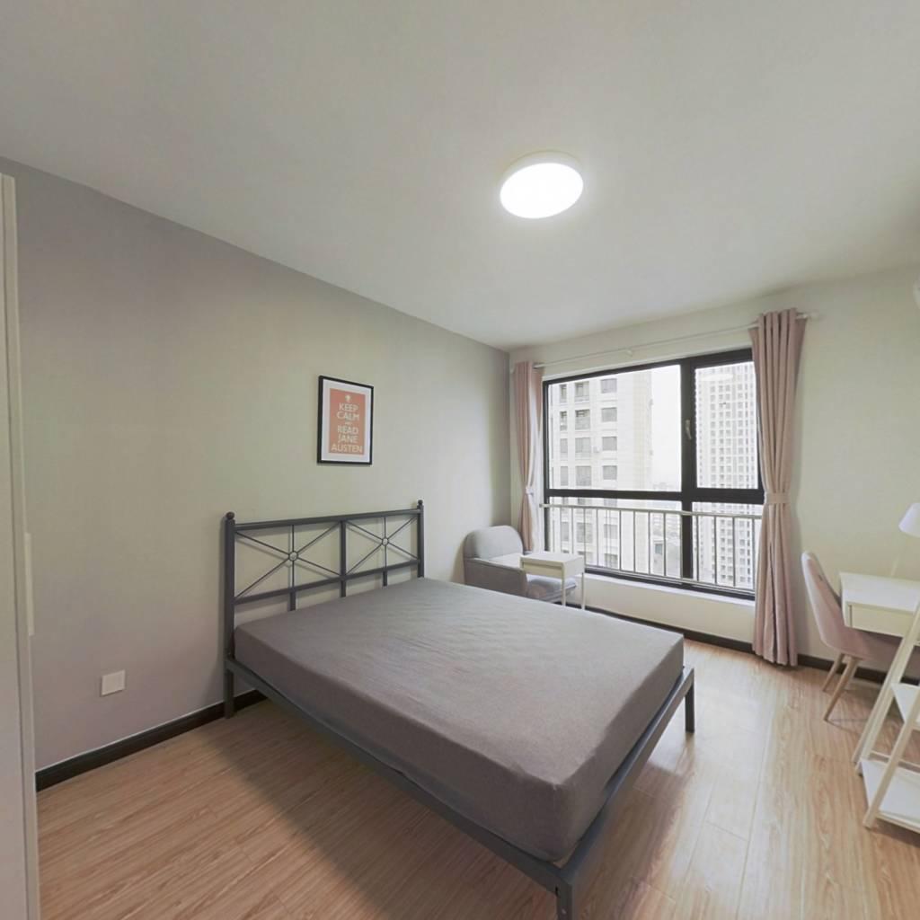合租·国耀上河城 3室1厅 南卧室图