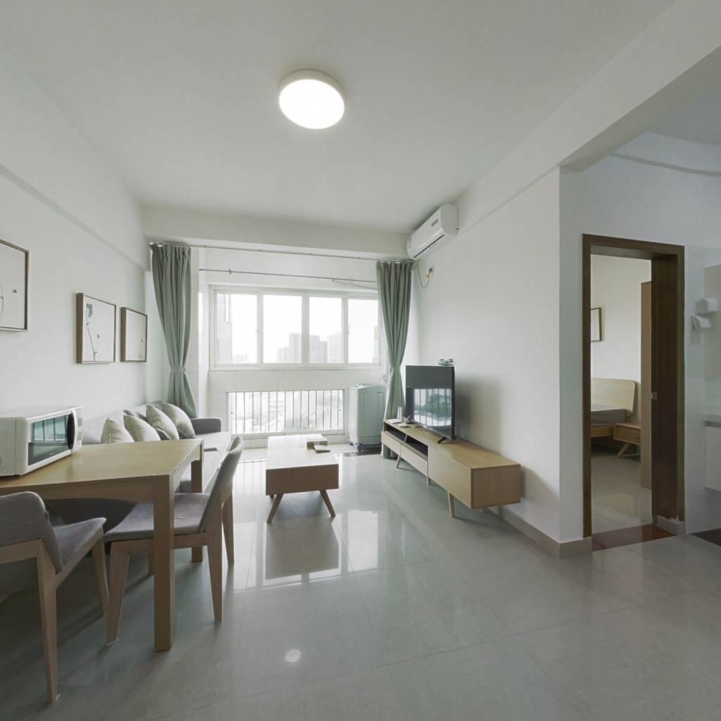 整租·新街口花园 2室1厅 南卧室图
