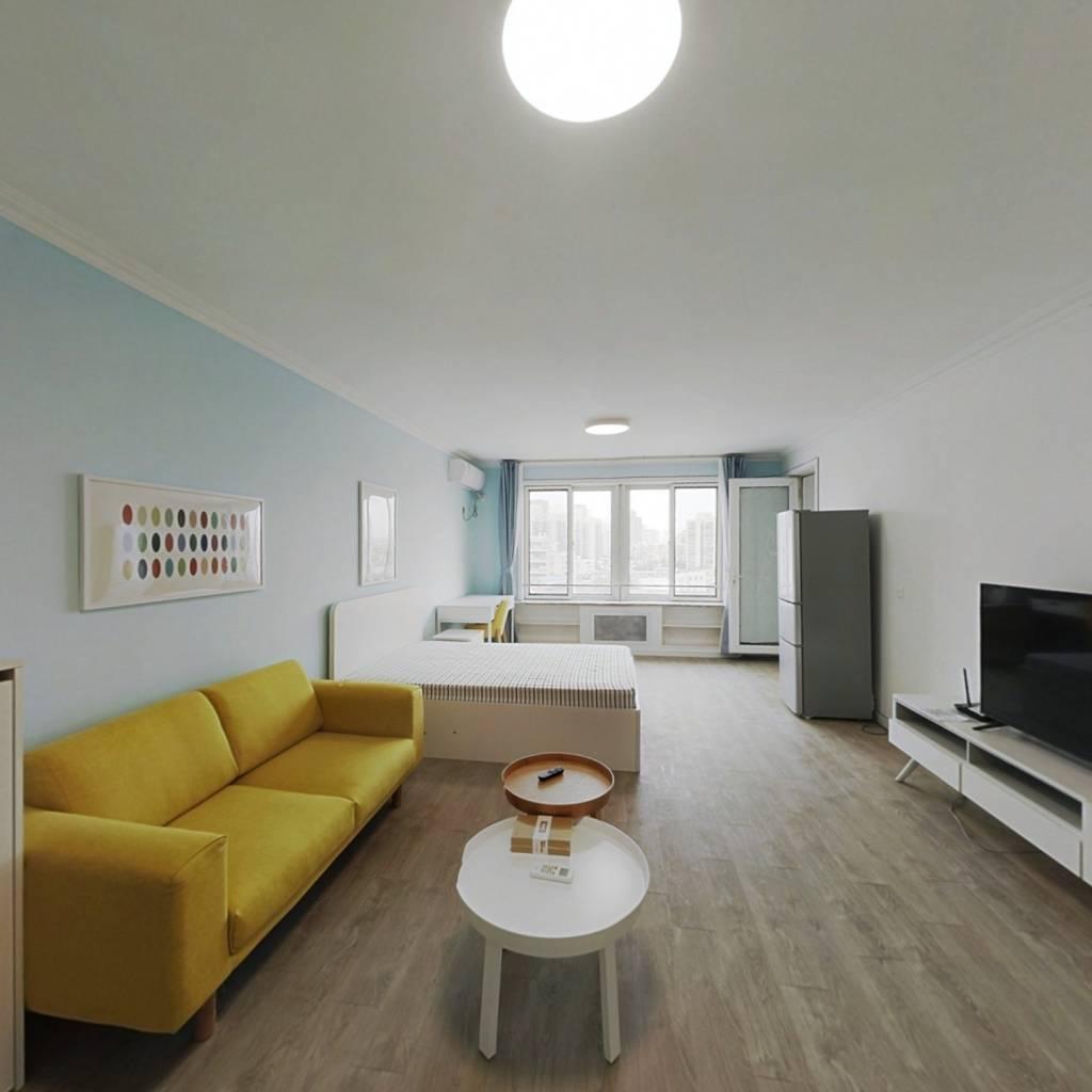 整租·团结湖公寓 1室1厅 西卧室图