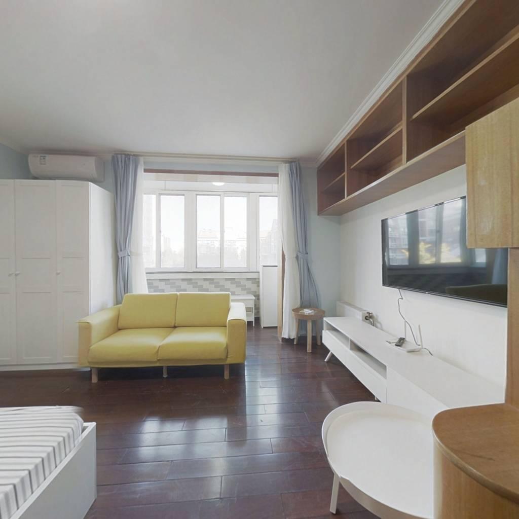整租·橙色年代 1室1厅 北卧室图