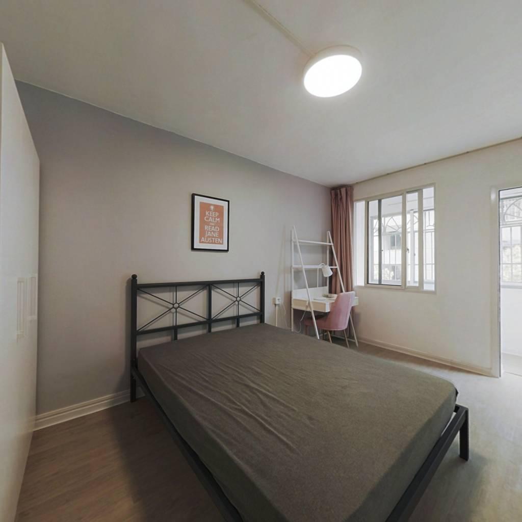 合租·十五家园 3室1厅 北卧室图