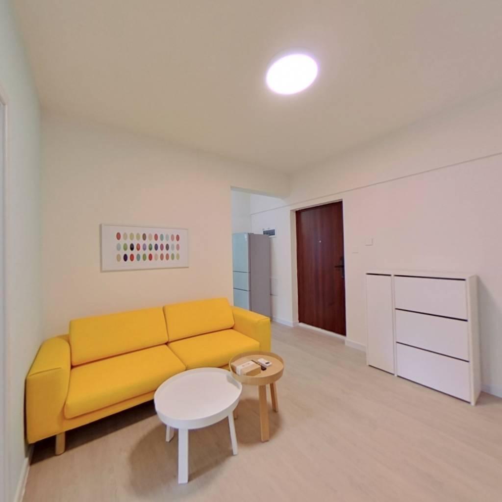整租·普得先锋国际 2室1厅 南卧室图